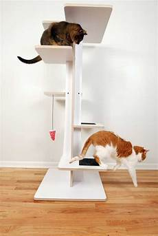 Modern Cat Spoil Your Lovely Cats With Contemporary Cat Furniture