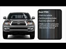 Reset Tire Pressure Light Toyota Tacoma Tire Pressure Monitoring System Tacoma Toyota Of Slidell