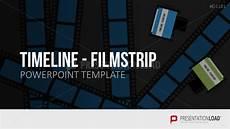 Filmstrip Powerpoint Template Powerpoint Timeline Film Presentationload
