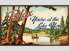 Moose R Us.Com Relax You're at the Lake Indoor Outdoor Floor Mat Rug