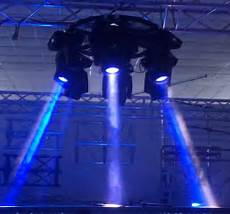 Dj Lighting Manufacturers 6061 Aluminium Spining Dmx512 Mini Rotary Circle Truss For