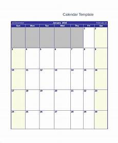 Monthly Word Calendar Free 13 Sample Blank Monthly Calendar Templates In Pdf