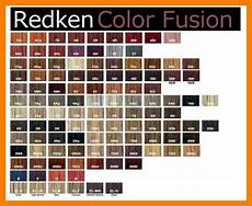 Redken Cover Fusion Color Chart Redken Cover Fusion Chart Pogot In 2020 With Images