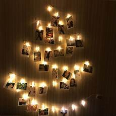 Fairy Lights Picture Frame Led Clip Light String Fairy Lights Snowflake Tree