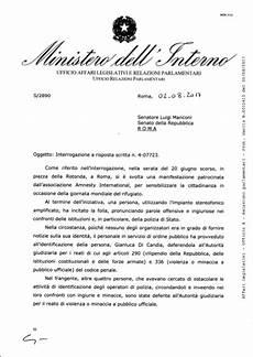 decreti ministero interno il ministero dell interno insiste criticare i decreti