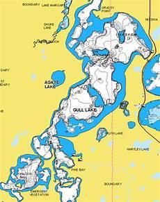 Cass Lake Depth Chart Gull Lake Depth Map Map Feccnederland