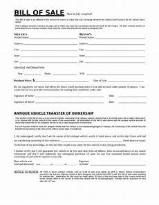 California Bill Of Sale Car 2020 Dmv Bill Of Sale Form Fillable Printable Pdf