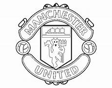 manchester united fc crest coloring page coloringcrew