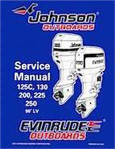1998 Johnson Evinrude Quot Ec Quot 125c 130 200 225 250 90 Deg