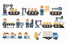 Production Process Production Process Flat Web Elements On Creative Market