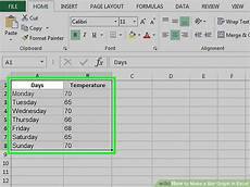 How Do You Make A Chart In Excel 2013 How To Make A Bar Graph In Excel 10 Steps With Pictures
