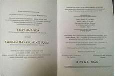 ini isi undangan pernikahan putra jokowi republika online
