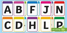Lowercase Letters Flash Cards New Upper Case Alphabet Flashcards Teacher Made