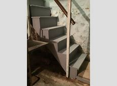 Basement Stair Replacement in Chatham NJ   Monks Home Improvements