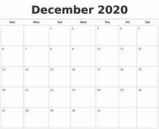 Free December 2020 Calendar November 2020 Monthly Calendar Template