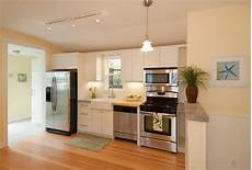 one wall kitchen layout with island simple kitchen designs for indian homes kitchen design