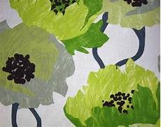 Lime Green Design Lime Green Floral Fabric Contemporary Floral Large Scale