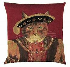 animal gift ideas uk cat belgian tapestry cushions with