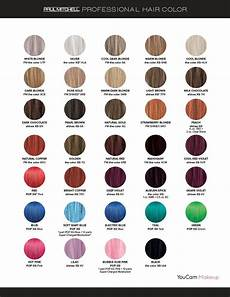 Paul Mitchell Inkworks Color Chart Paul Mitchell Professional Paul Mitchell Hair Products
