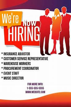 Now Hiring Template Flyer Copy Of Now Hiring Flyer Postermywall
