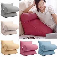 sofa back wedge cushion lumbar support pillow brace neck