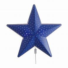 Star Shaped Lights Ikea Smila Stj 196 Rna Stjarna Blue Star Shaped Kid S Wall