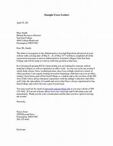 Cover Letter Example For Assistant Letter Of Interest Example For Administrative Assistant
