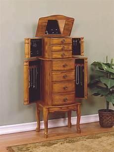 powell woodland oak jewelry armoire by oj commerce 604 315