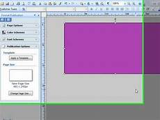 Publisher Banner Templates How To Create A Banner In Microsoft Publisher For Your
