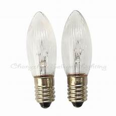 E10 Candle Light Bulbs E10 14x45 12v 3w Miniature Lamp Light Bulb A144 Sellwell