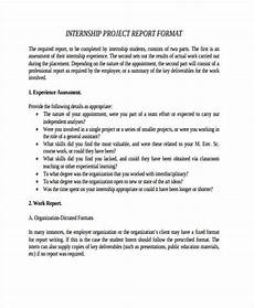 Project Reports Format 26 Project Report Formats Word Pdf Docs Free