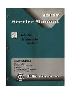 1997 Cadillac Deville Eldorado And Seville Factory