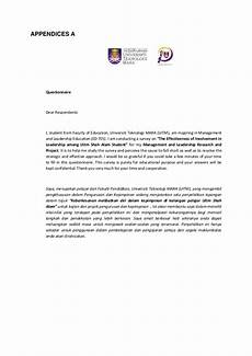 Cover Letter For Survey Cover Letter Questionnaire Dissertation Survey Letter Sample