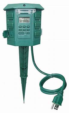 First Choice Lighting Outlet Power First Programable Outdoor Power Stake Number Of
