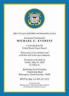 Military Retirement Invitations U S Military Retirement Invitation Created By V