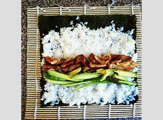 How To Make Teriyaki Chicken Sushi Rolls At Home   Recipe