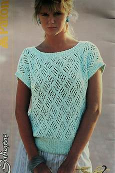 knit summer sweater knitting patterns summer vintage cotton by
