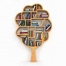 scaffale per libri albero di conoscenza scaffale per libri su fondo bianco
