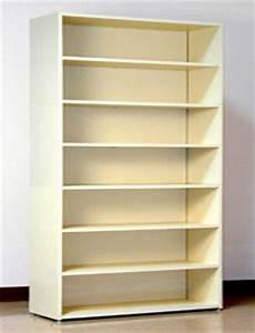 7 tier 48 quot wide size laminate wood open shelf