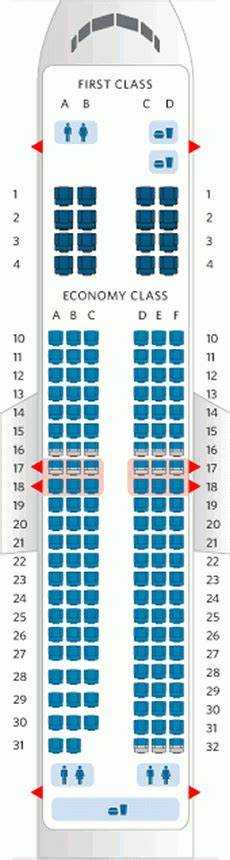 Delta Airlines Seating Chart Boeing 737 800 Seating Chart American Airlines