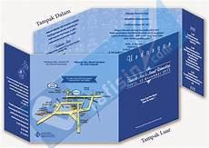 template undangan biru sederhana corel draw grafisin