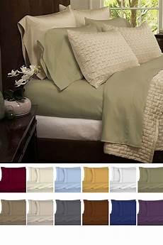 bamboo blend bed sheets 4 set