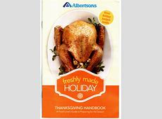 """Albertsons: New """"Freshly Made Holiday"""" Thanksgiving Coupon"""