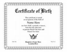 Birth Certificate Fake Template Windows And Android Free Downloads Create Fake Birth