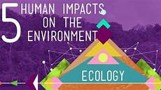What Effect Does Human Activity Have On Many Ecosystems 5 Human Impacts On The Environment Crash Course Ecology