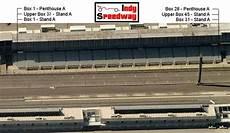 Indianapolis Motor Speedway Paddock Seating Chart A Stand Seating Chart Indy Speedway