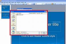 Powerpoint Custom Design Powerpoint 2003 Create Custom Design Templates And Master