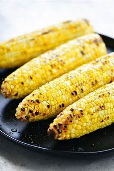 What Is Corn Made Of Grilled Corn On The Cob Peeled The Gunny Sack