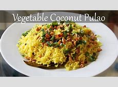 Vegetarian Coconut Rice Recipe   Quick & Easy Indian Lunch