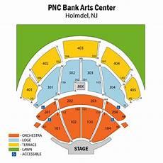Pnc Bank Art Center Virtual Seating Chart Pnc Bank Arts Center Interactive Seating